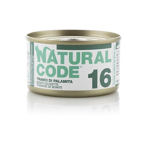Natural Code - 16 Tranci di Palamita 85 Gr.