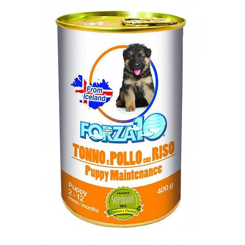 Forza 10 - Maintenance Puppy Tonno e Pollo con Riso da 400gr