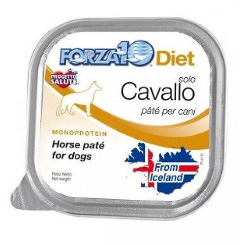 Forza 10 - Patè Iceland Solo Diet con Cavallo 300g