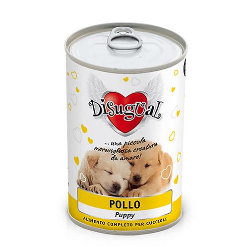 Disugual Patè Monoproteico Puppy con Pollo 400 Gr.