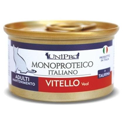 Unipro Unicamente 85g Cibo Umido Monoproteico Vitello Gatti Adulti