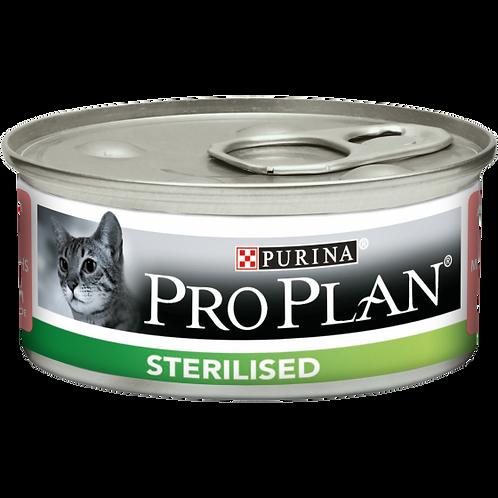 PURINA PRO PLAN Sterilised Gatto Patè con Salmone e Tonno 85 Gr.