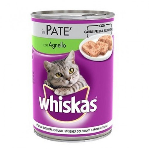 Whiskas Patè Agnello 400 GR