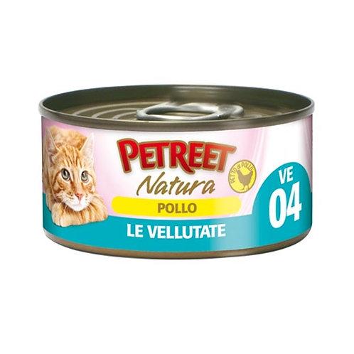 Petreet  Natura Le Vellutate Pollo 70 Gr.