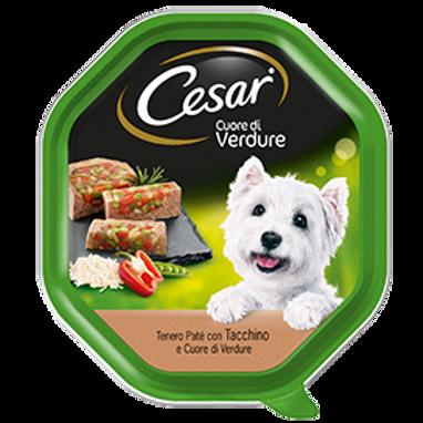 Cesar Cuore di Verdure delicato Paté con Tacchino e Cuore di Verdure 150 Gr.