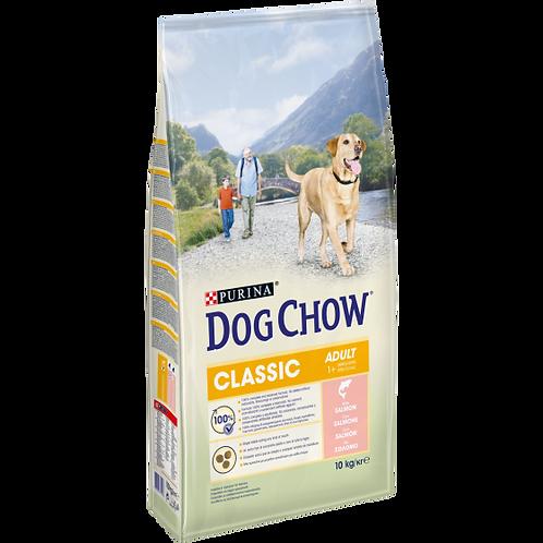 DOG CHOW Classic Cane Adult Crocchette con Salmone 10 kg