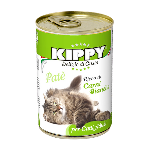 Kippy Gatto Adult Patè con Carni Bianche 400 Gr.