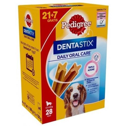 Pedigree Dentastix Snack per l'Igiene Orale (Cane Medio 10-25 kg), 28 Pezzi