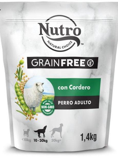 Nutro Grain Free Cane Adult Medium con Agnello 1.4 Kg.