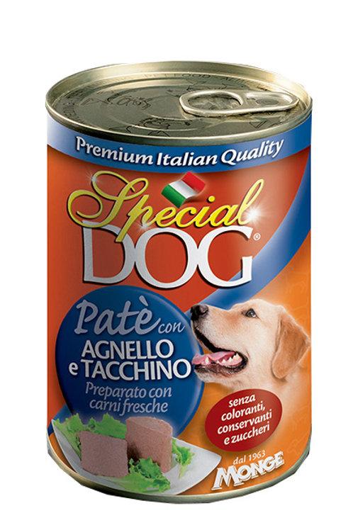 Special Dog Paté con Agnello e Tacchino  400 Gr.