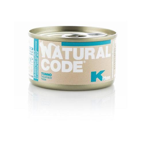 Natural Code - Kitten Tonno  85 Gr.