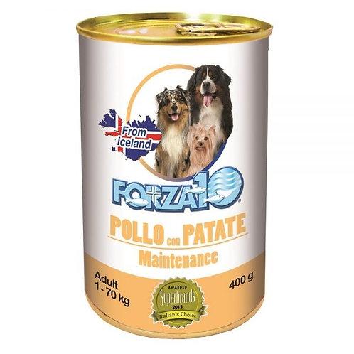 Forza10 - Maintenance Adult Pollo con Patate 400 Gr.