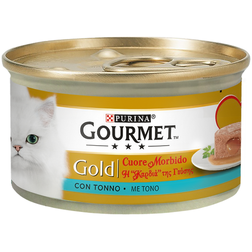 GOURMET Gold Cuore Morbido con Tonno 85 Gr.