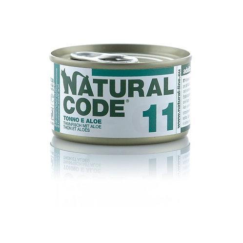 Natural Code - 11 Tonno e Aloe 85 Gr.