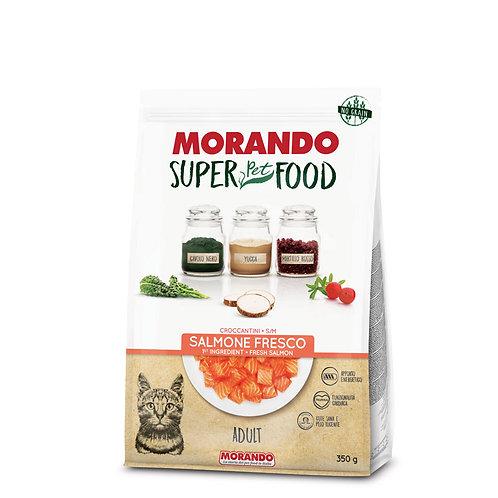 Morando SuperPetFood Adult Croccantini Salmone 350 Gr.