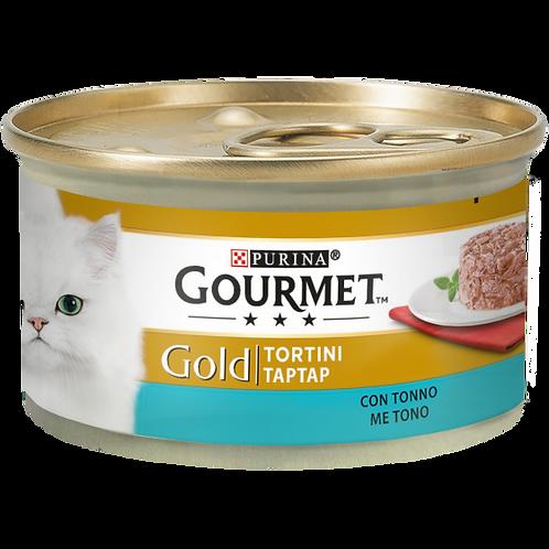 GOURMET Gold Tortini Gatto con Tonno 85 Gr.