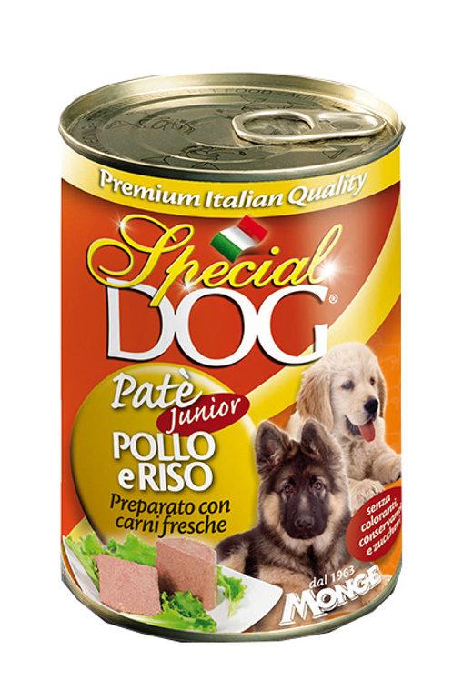 Special Dog Paté con Pollo e Riso – Puppy & Junior 400 Gr.