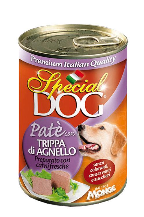 Special Dog Paté con Trippa e Agnello  400 Gr.