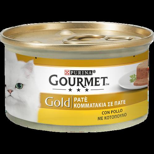 GOURMET Gold Gatto Pate' con Pollo 85 Gr.