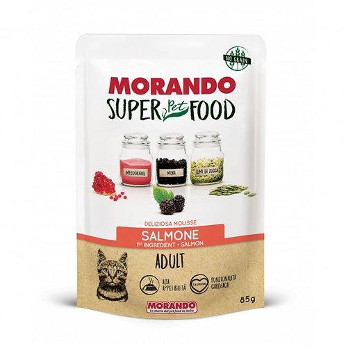 Morando Super Pet Food Gatto Adult Mousse al Salmone