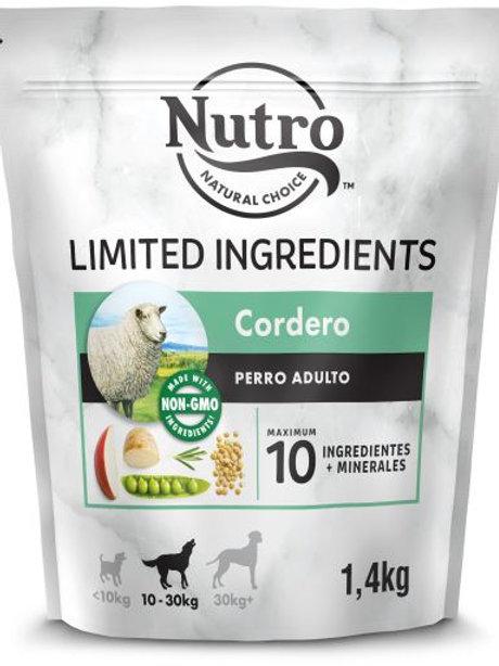 Nutro Limited Ingredients Taglia Media con Agnello 1.4 Kg.