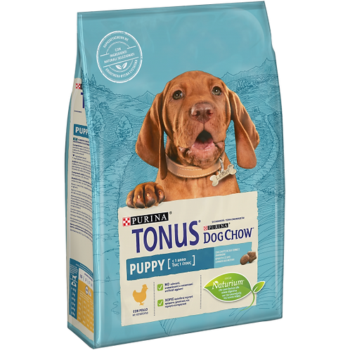 TONUS DOG CHOW Puppy Cane Crocchette con Pollo 2,5 Kg.