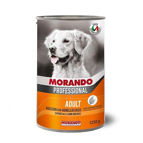 Morando Professional Adult Bocconi con Agnello e Riso 400 o 1250 Gr.