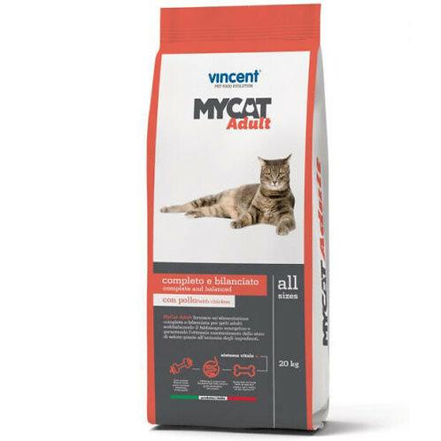 Vincet MyCat Ricco di Pollo e Manzo 20 Kg.