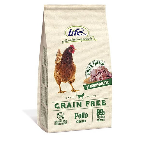 Life Pet Care - Natural Ingredients Adult Grain Free con Pollo e Patate