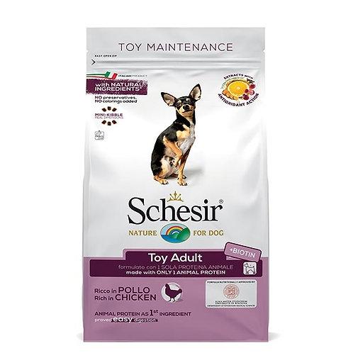 Schesir - Dry Line Toy Mantenimento con Pollo 2 Kg.