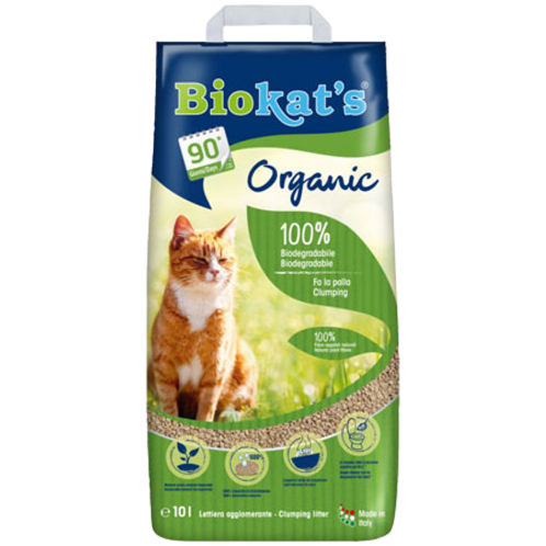 Biokat's Lettiera Vegetale Agglomerante 10 Lt.