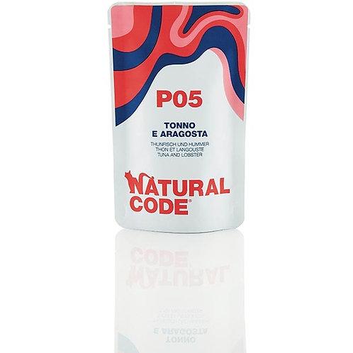 Natural Code - P05 Tonno e Aragosta in Acqua di Cottura 70 Gr.