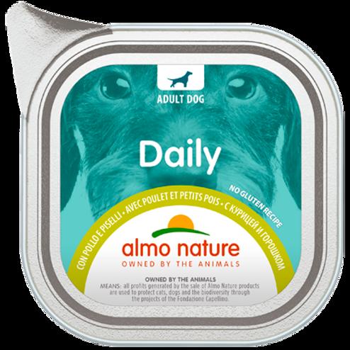 Almo Nature cane DailyMenu con Pollo e Piselli 100/300 Gr.