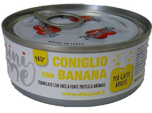 Disugual MiniMe Patè Coniglio con Banana 85 Gr.