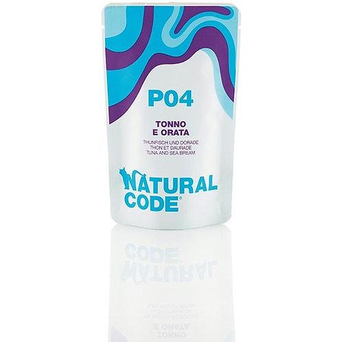 Natural Code - P04 Tonno e Orata in Acqua di Cottura 70 Gr.