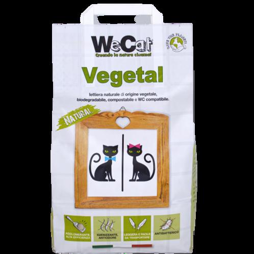 WeCat  Lettiera Agglomerante Vegetale Biodegradabile 3.5 Kg.