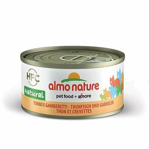 Almo Nature HFC Natural Tonno e Gamberetti 70 gr