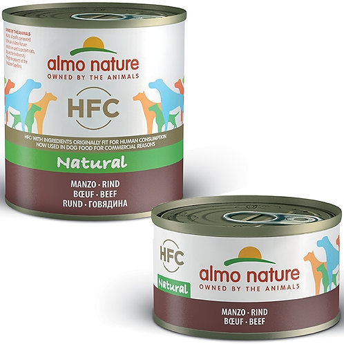 Almo Nature - HFC Natural Manzo 95 Gr.