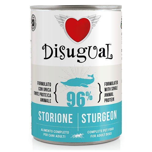 DISUGUAL Adult All Breeds Monoproteico Ipoallergenico Storione 400GR