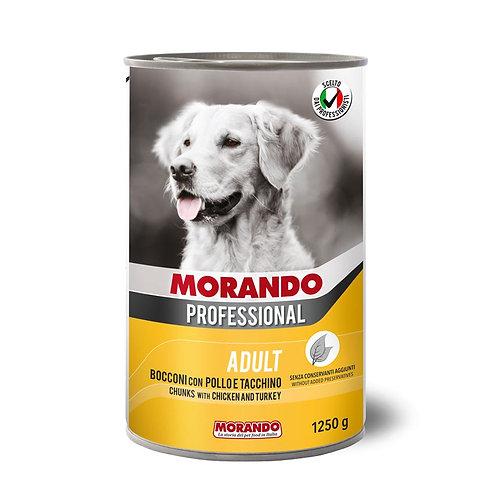 Morando Professional Adult Bocconi con Pollo e Tacchino 400 o 1250 Gr.