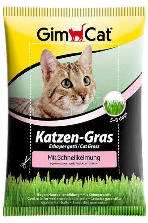GIMCAT Erba per Gatti a Germinazione Rapida 100 G