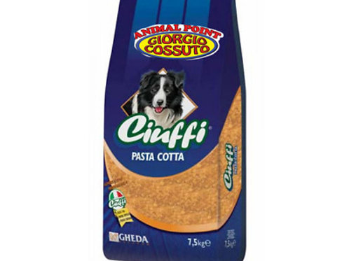 Gheda Ciuffi Pasta Precotta 7.5 Kg.