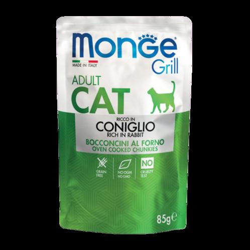 Monge Grill Cat Adult Bocconcini in Jelly Coniglio da 85 Gr
