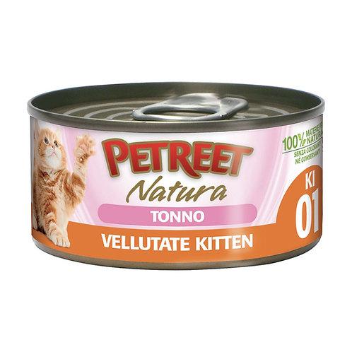 Petreet Natura Le Vellutate Kitten con Tonno 60 Gr.