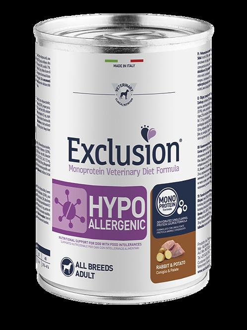Exclusion Diet Hypoallergenic Coniglio & Patate 400 gr