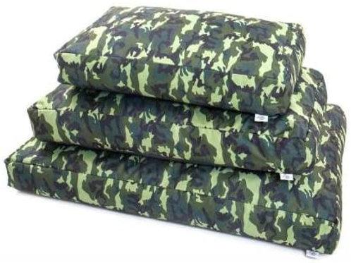 Leopet Cuscino Brick Army Verde 60x100x15h cm
