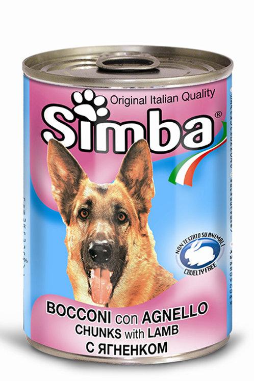 Simba Monge Bocconi con Agnello 1230 Gr.