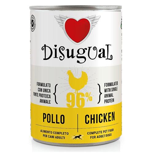 DISUGUAL Adult All Breeds Monoproteico Ipoallergenico Pollo 400GR