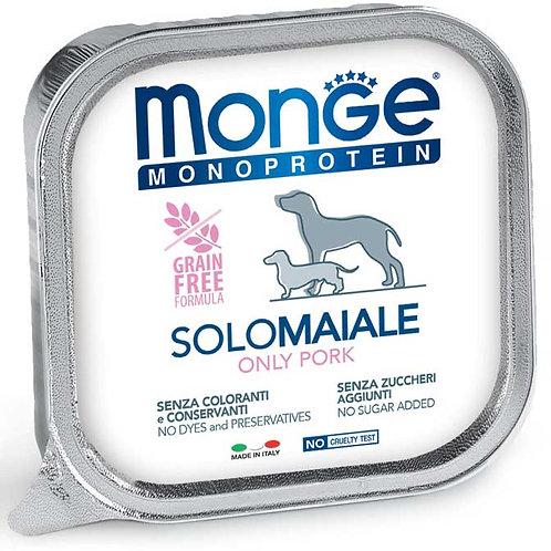 Monge Pate' Monoproteico SOLO Maiale 150 Gr.