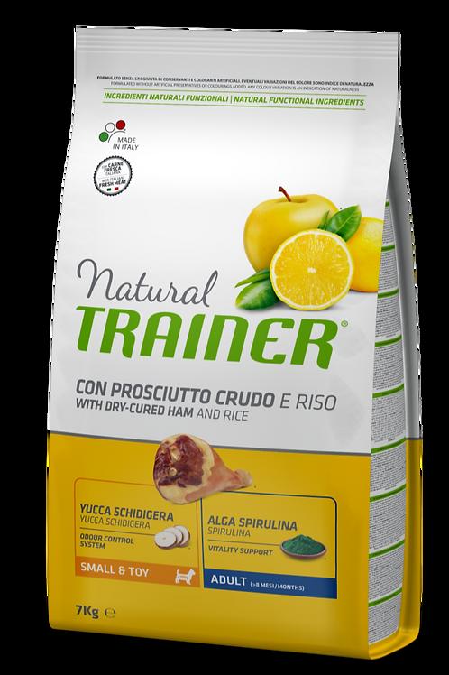 Natural Trainer Adult Mini Prosciutto Crudo 7 Kg.